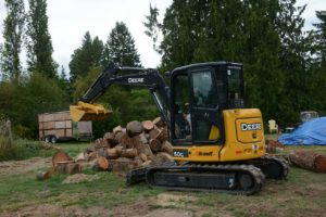 Excavation services, excavating, cowichan, Duncan, landscaping, drainage services, foundations. Vorsprung